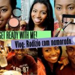 Get Ready With Me + Vlog: Rodízio de pizza com namorado